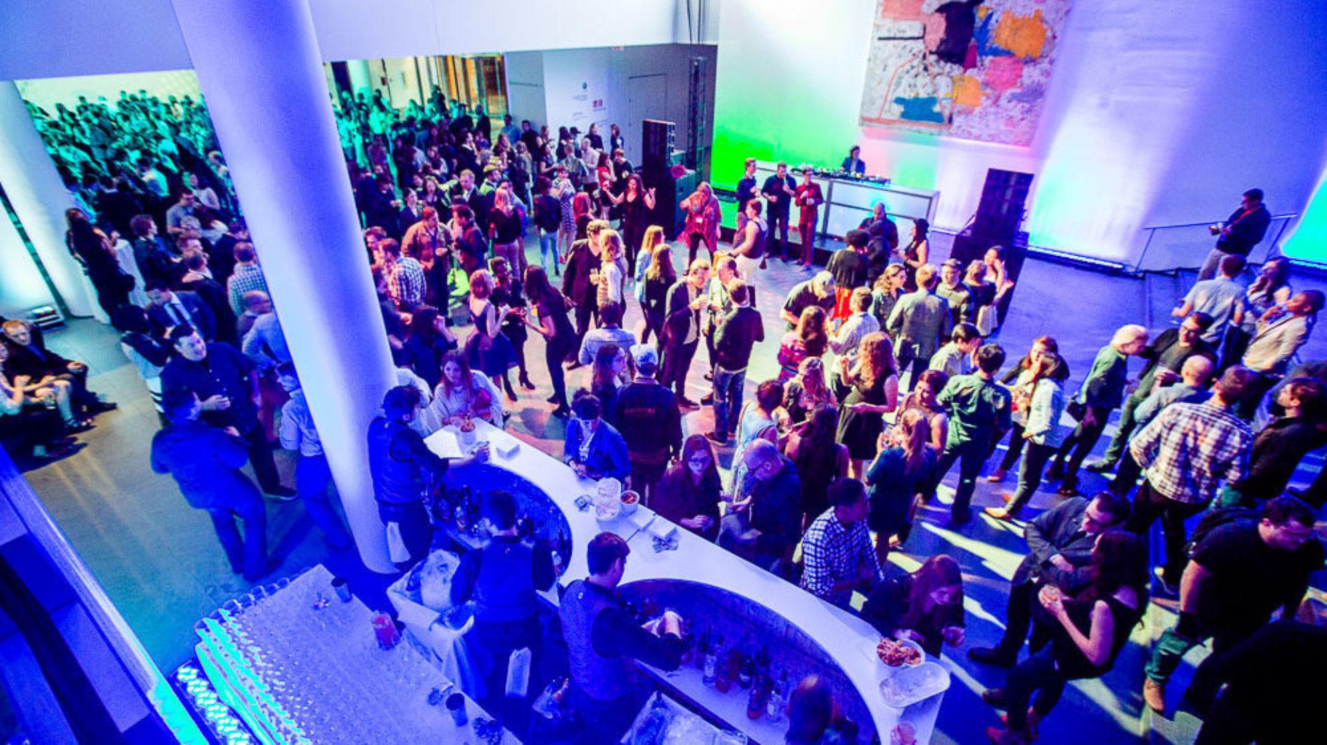 Adobe MoMa party. Credits: Mackler Studios / MACKME.COM